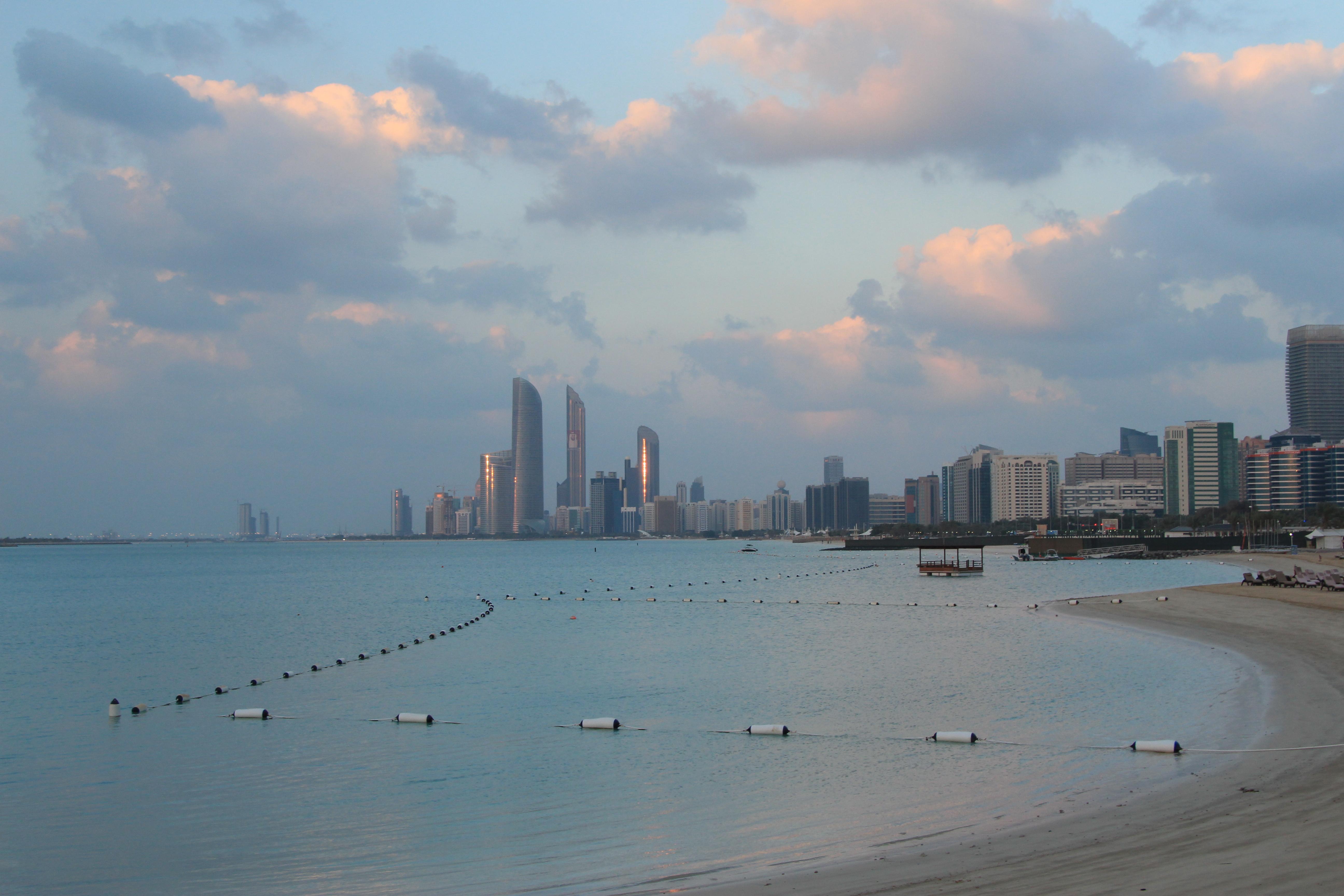 Näkymä Corniche-kadulta