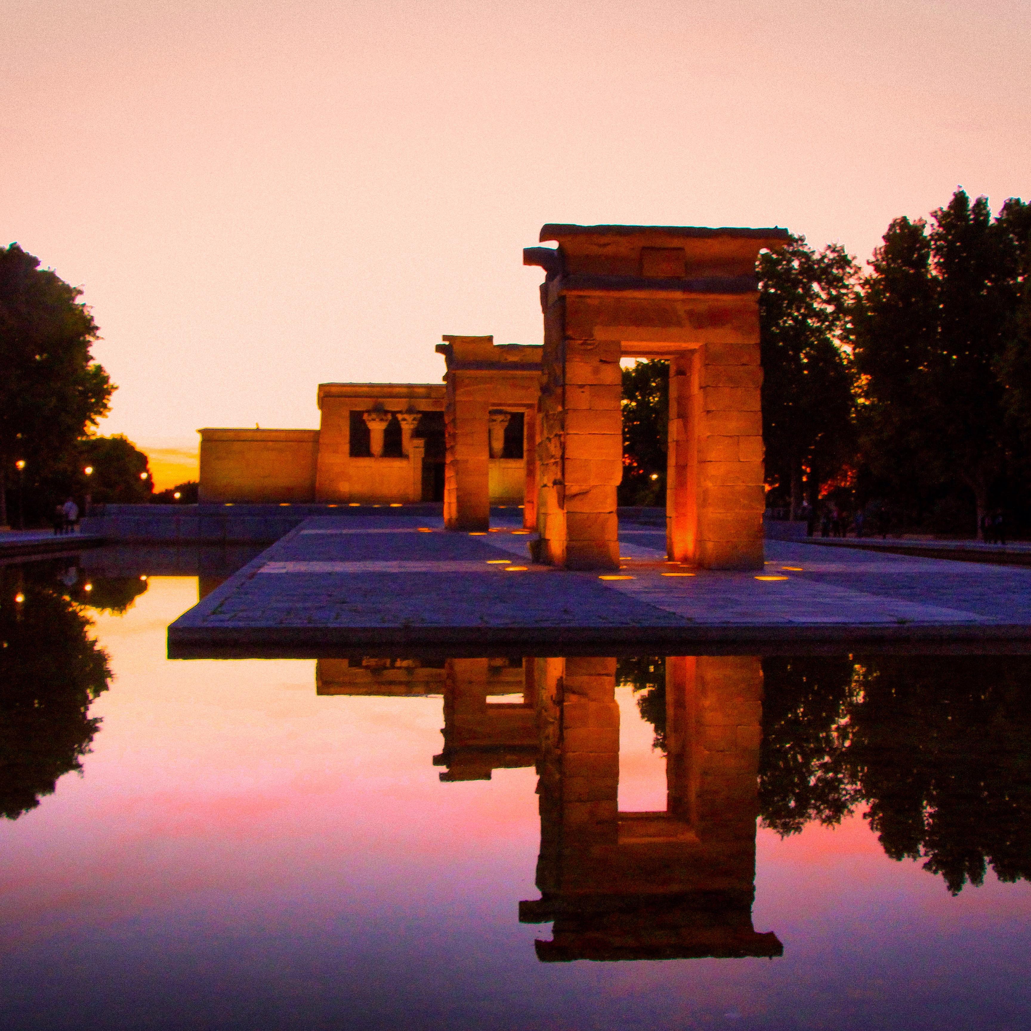 Madridin Templo de Debod
