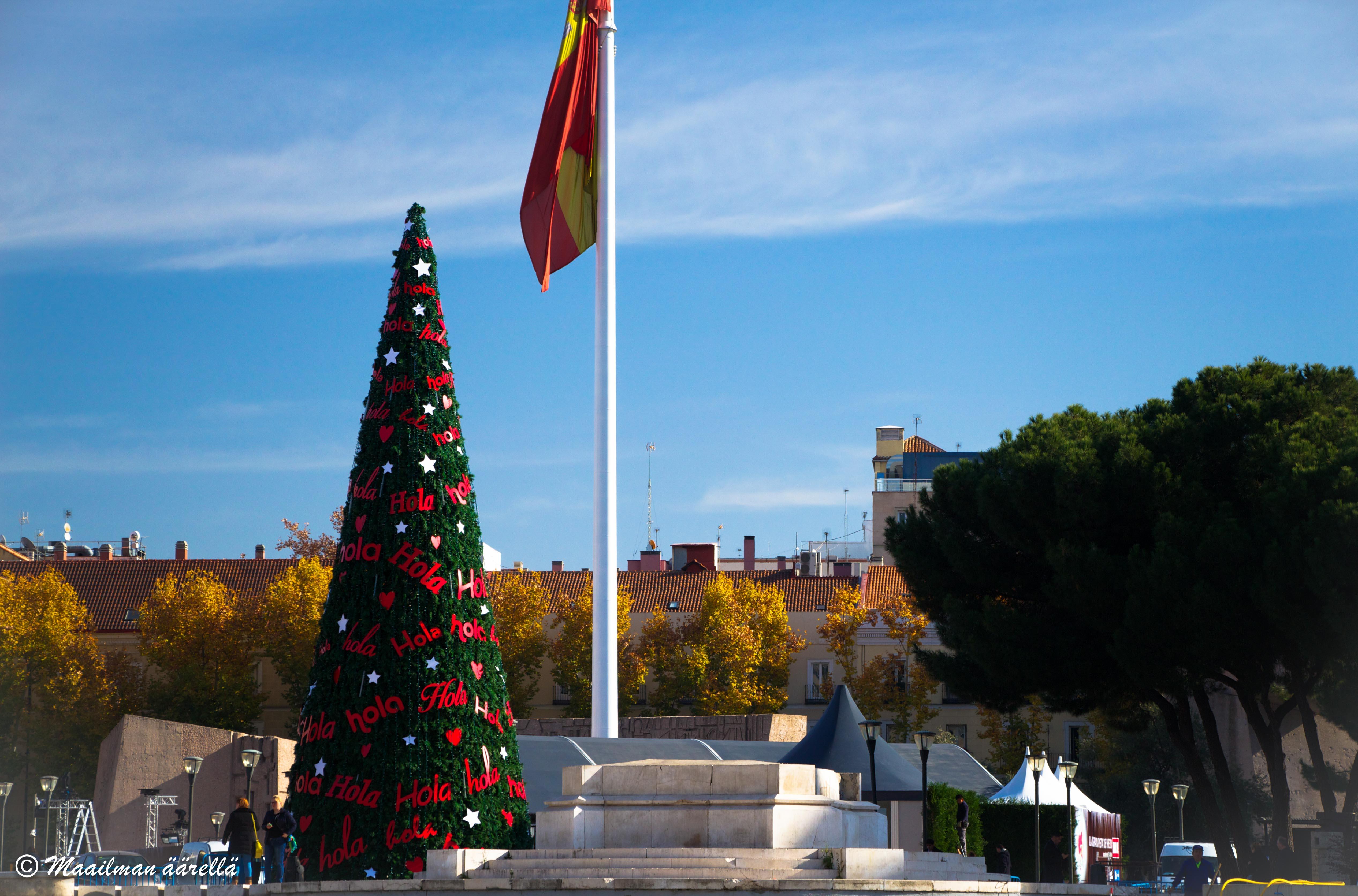 Joulu Madridissa
