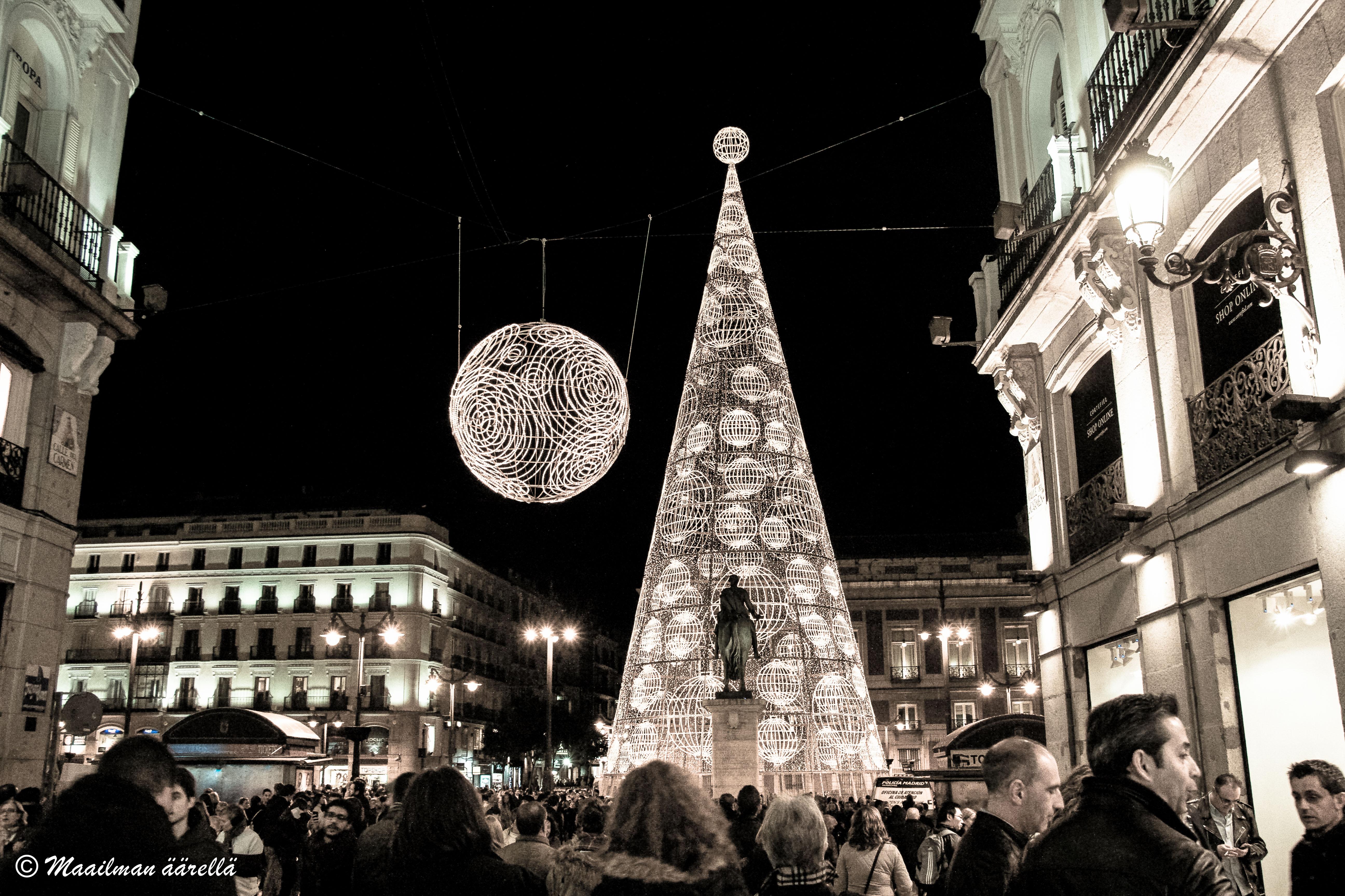 Madrid jouluna