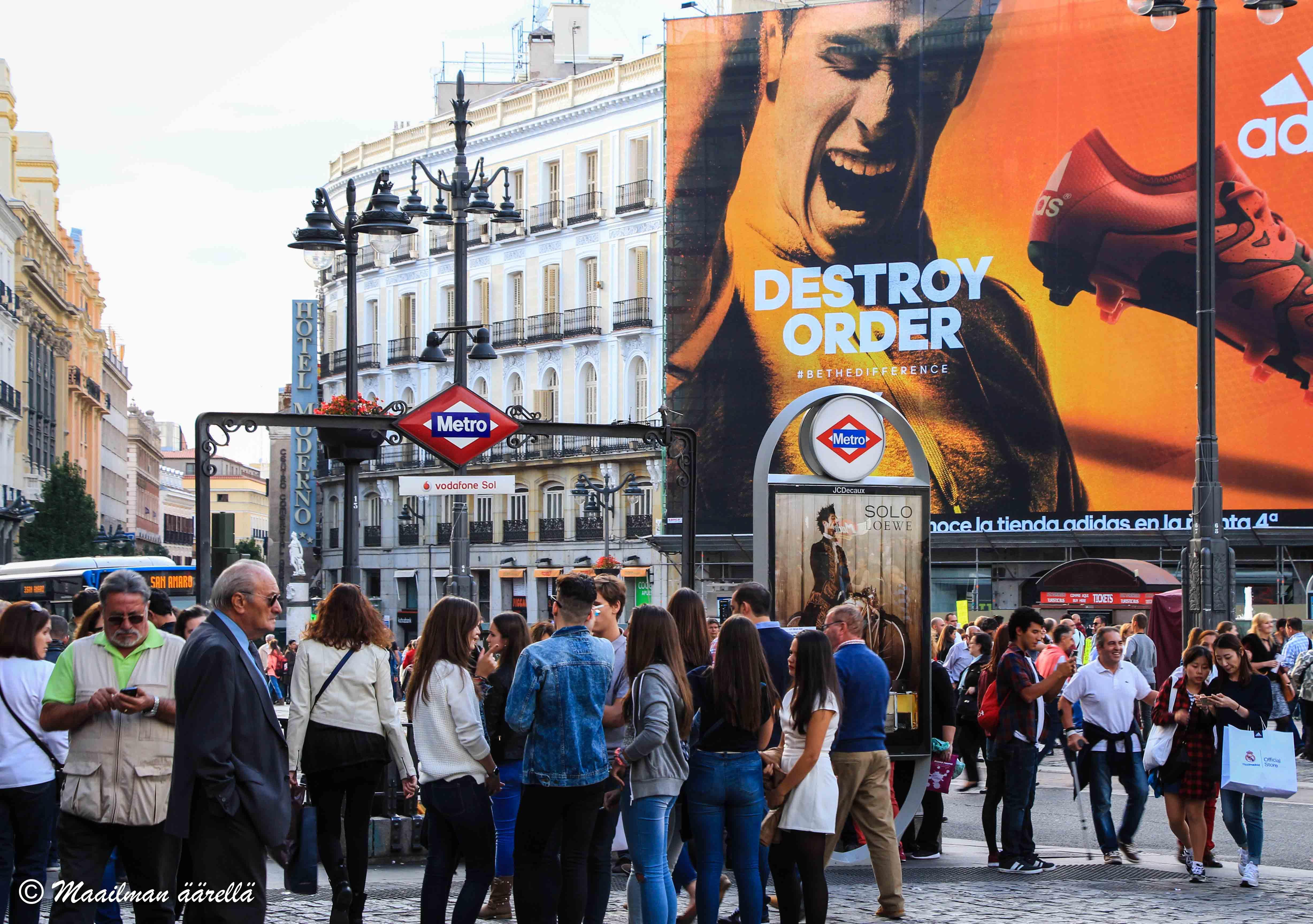 Madrid nähtävyydet