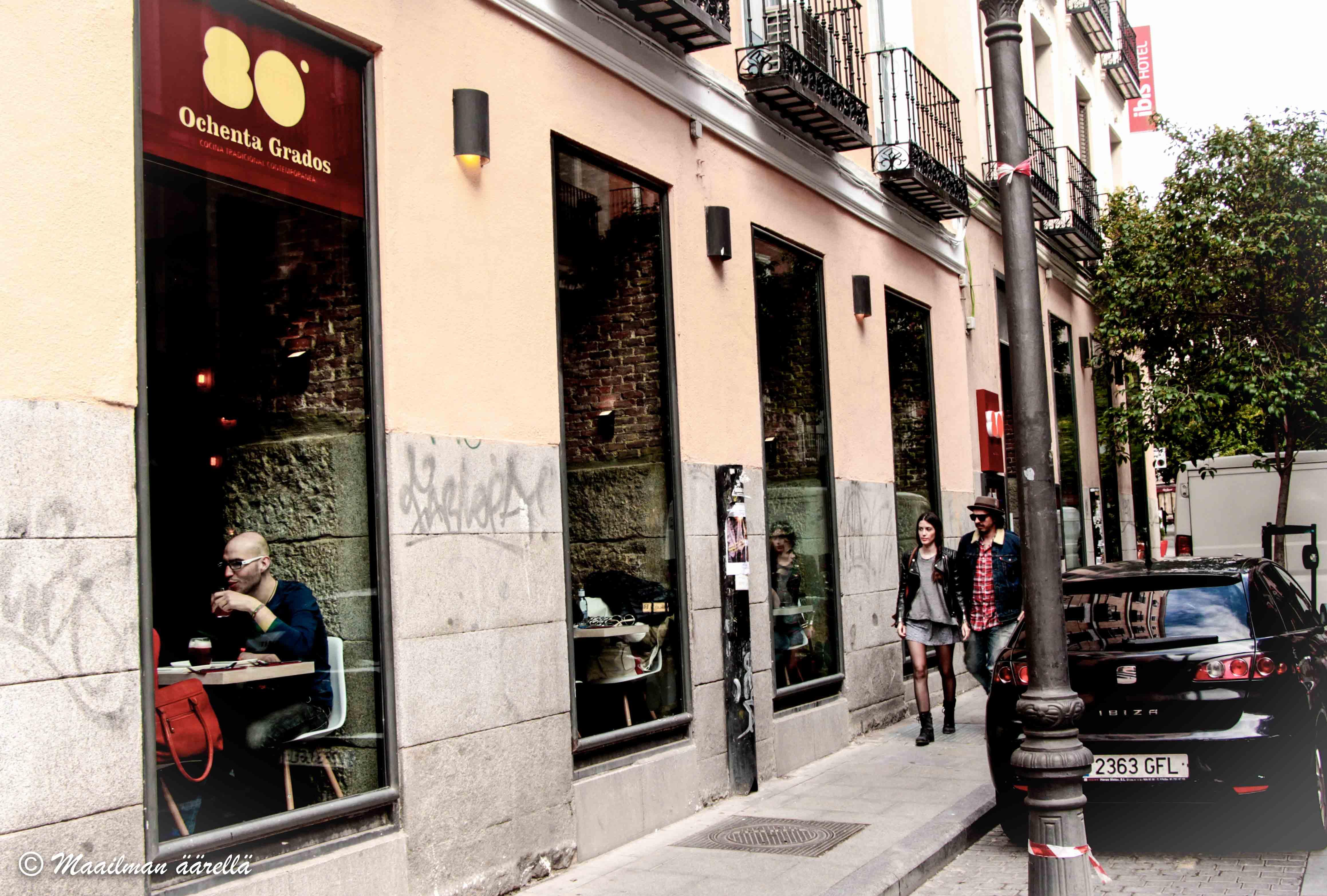 Madrid ravintolat