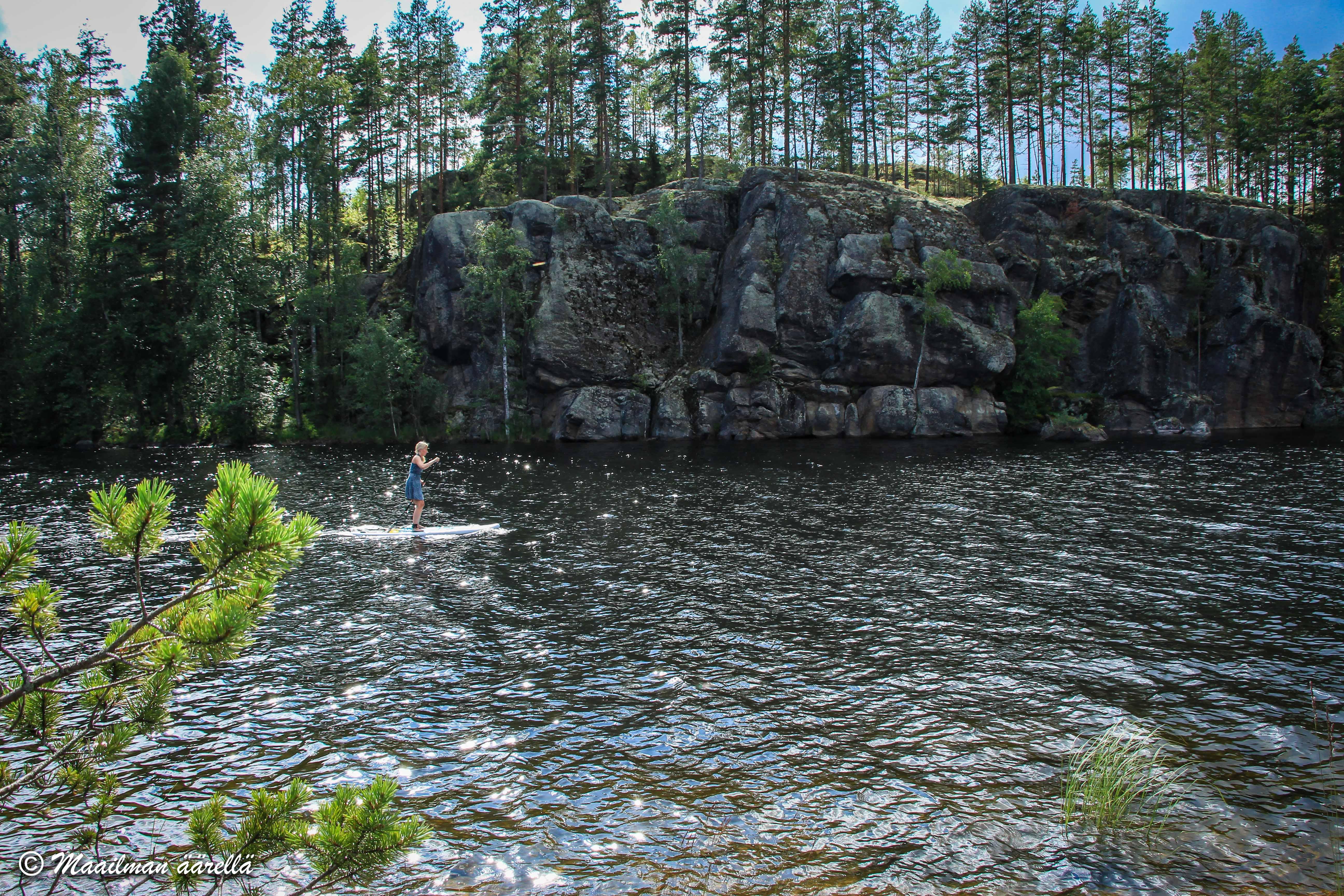 Norppa-Majat, Saimaa