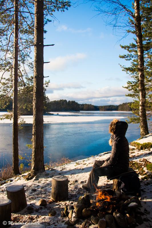 talvinen Saimaa