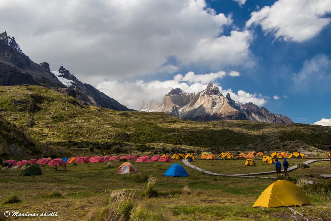 comping Patagonia