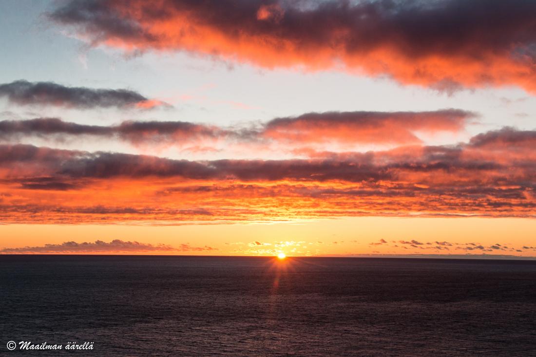 Madeira auringonlasku