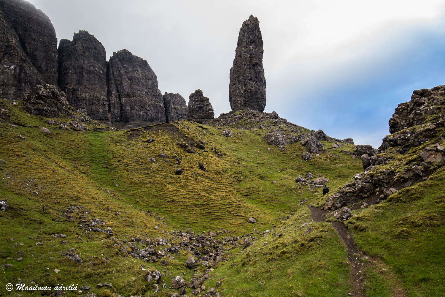 Skotlanti The Old Man of Storr