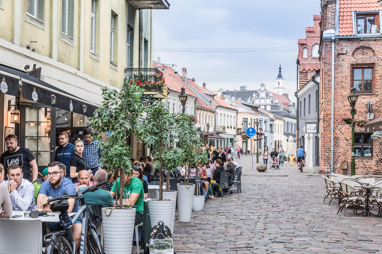 Kaunas_Liettua_vanhakaupunki
