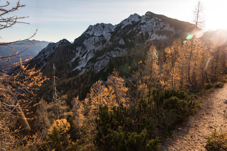 Triglavin kansallispuisto Slovenia