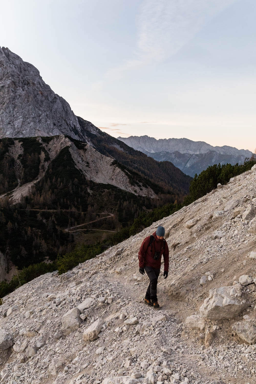 helppo patikka Sloveniassa Triglavin kansallispuistossa