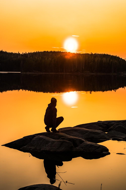 Saimaa_auringonlasku