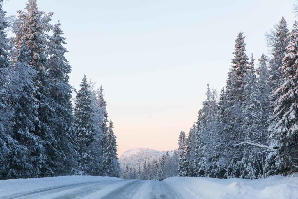 talvi Kuusamo