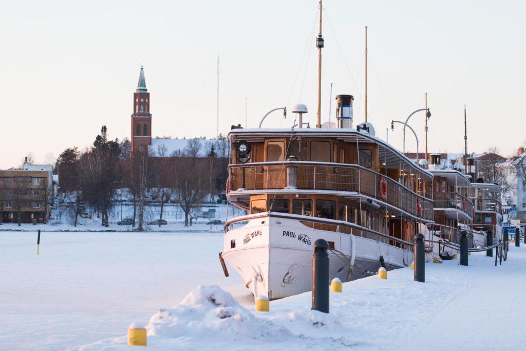 Laivamajoitus Savonlinnassa
