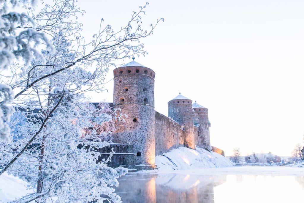 Talviloma Savonlinnassa Olavinlinna
