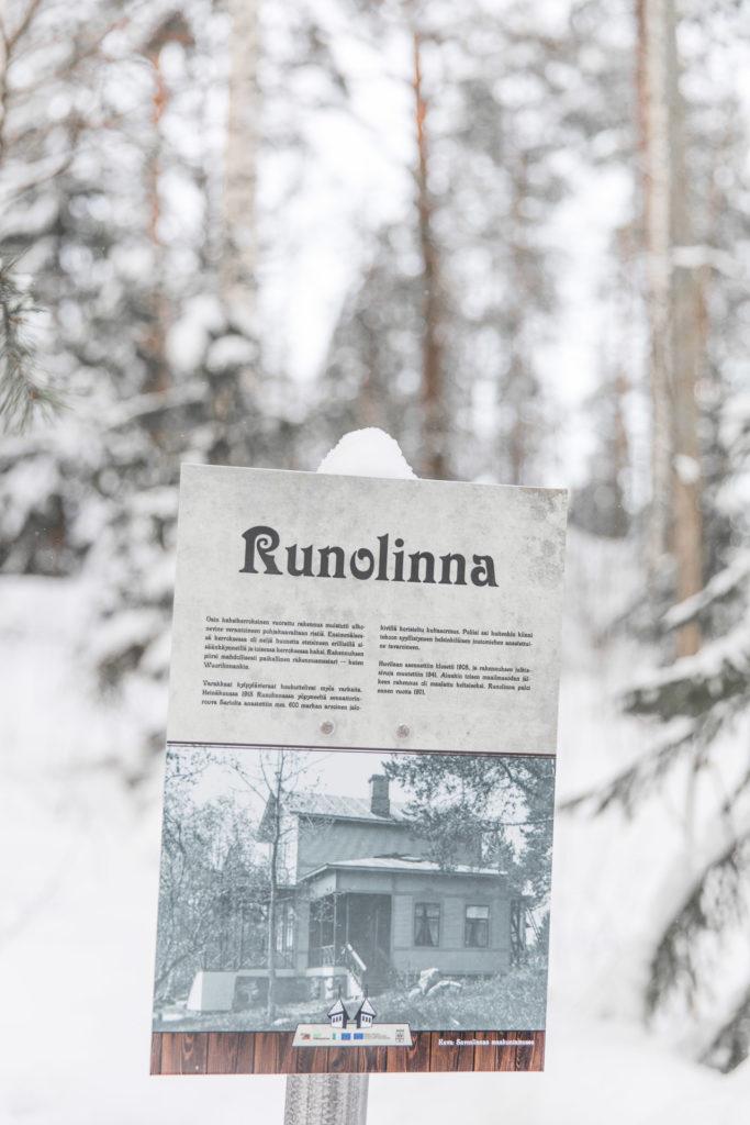Talviloma Savonlinnassa
