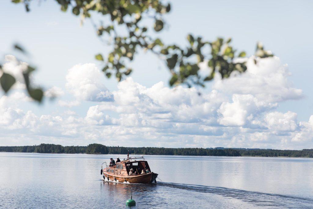 Saariretki Linnansaareen Järvisydämestä