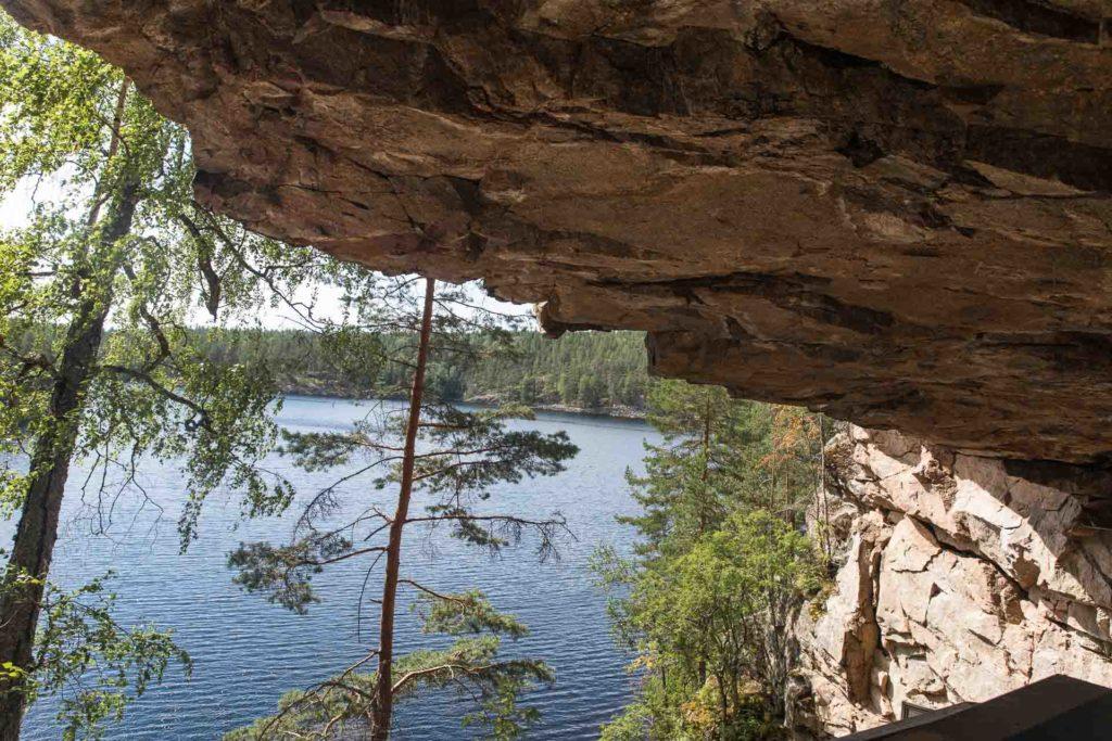 Koloveden kansallispuisto kalliomaalaus